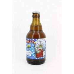 Bière blonde artisanale Crazy IPA 33cl