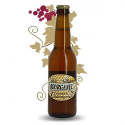 Bière artisanale ambrée Bourganel au miel de Châtaignier 33 cl