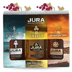 COFFRET 3 MIGNONETTES ISLE OF JURA 3x5CL