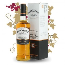 WHISKY BOWMORE 12 ANS Islay 70 cl