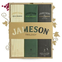COFFRET JAMESON TRILOGY 3x20CL