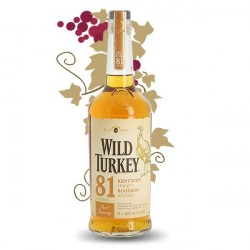 Wild Turkey 81 PROOF Kentucky Straight Bourbon Whiskey