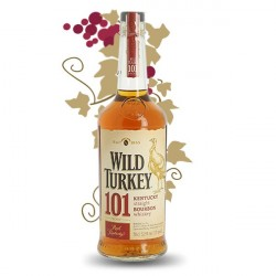 Wild Turkey 101 Proof Kentucky Straight Bourbon Whiskey 70CL