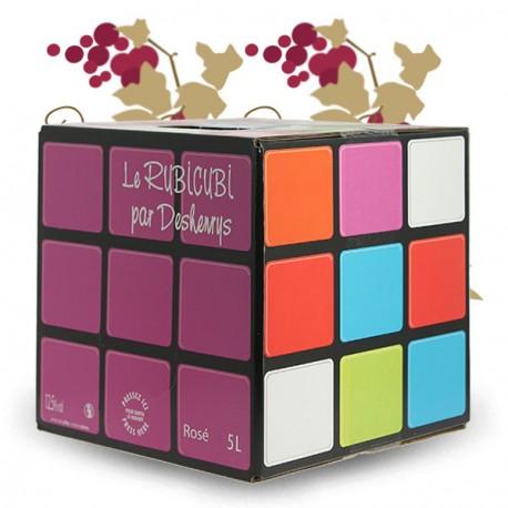 Rubicubi Rosé 5 litres par Deshenry