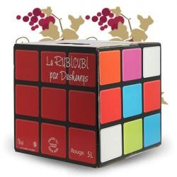 Rubicubi Rouge 5 litres par Deshenry