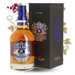 CHIVAS REGAL 18 ANS Blended Scotch Whisky 70 cl