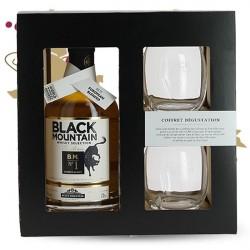 BLACK MOUNTAIN N°1 Whisky du Sud Ouest Coffret 2 verres