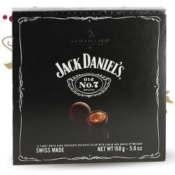 CHOCOLAT NOIR  AU JACK DANIEL'S BOITE CADEAU 160G