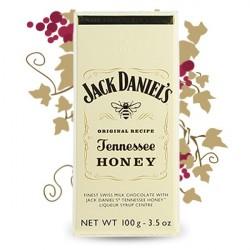 Chocolat à la liqueur JACK DANIEL'S  HONEY 100G