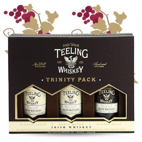 TEELING Irish Whiskey Trinity Pack 3X5cl