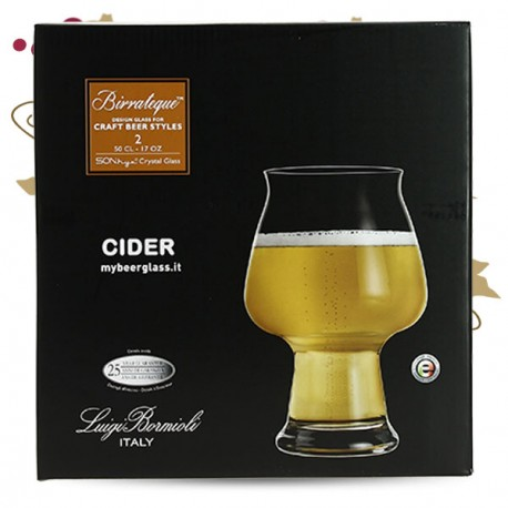 BIRRATEQUE Beeer Tester Verre à Bière LOT DE 2 VERRES 50 cl