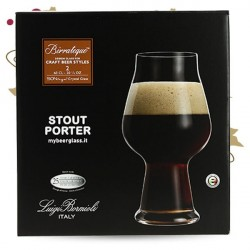 BIRRATEQUE Beeer Tester Verre à Bière LOT DE 2 VERRES 60 cl