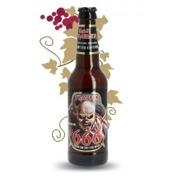 Biere the TROOPER 666  Iron Maiden 6°60 BIERE 33CL