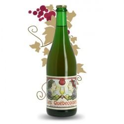 Les Quebecoises Bière Blonde au froment 75 cl