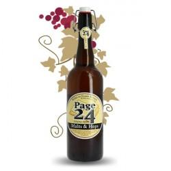 Page 24 Malts & Hops Bière de Garde Blonde 75 cl