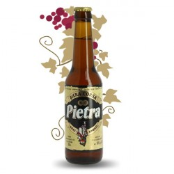 PIETRA Bière ambrée de Corse 33 cl à la farine de chataigne