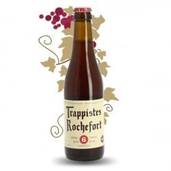 BIERE ROCHEFORT 6 BRUNE 33CL