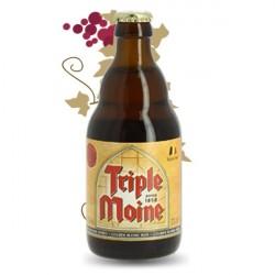 TRIPLE MOINE  BIERE BELGE BLONDE 33 cl