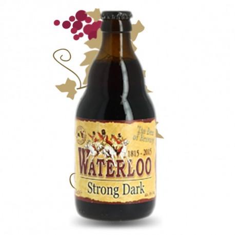 WATERLOO STRONG DARK DOUBLE Bière Belge Brune 33 cl