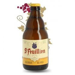 ST FEUILLIEN Bière belge blonde d'abbaye 33cl