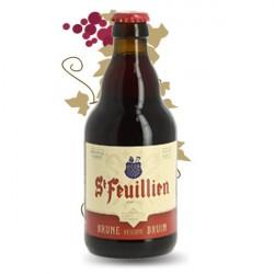 ST FEUILLIEN Bière Belge BRUNE 33 cl