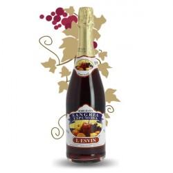 SANGRIA MOUSSEUX ROUGE IBARRA 75CL 10%