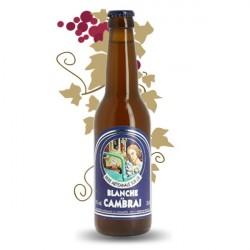 La BLANCHE de CAMBRAI Bière 33 cl