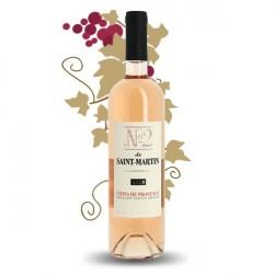 N°2 de SAINT MARTIN Côtes de Provence Rosé 75 cl