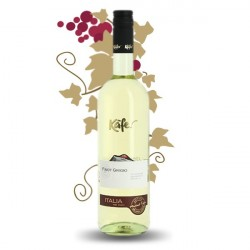 PINOT GRIGIO KAFER del Veneto Vin Blanc Italie 75 cl