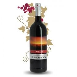 SUN OF AFRICA Cape Red Vin Rouge Afrique du Sud 1 L