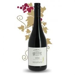 MASSAI SHIRAZ/SYRAH Vin Rouge d'Afrique du Sud 75 cl