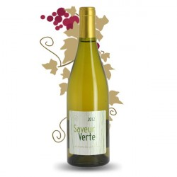 SAVEUR VERTE BY JEFF CARREL Vin Blanc IGP Côtes Catalanes 75 cl
