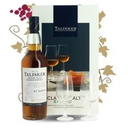TALISKER NORTH 57 Coffret Whisky  + 4 verres + livret de recettes