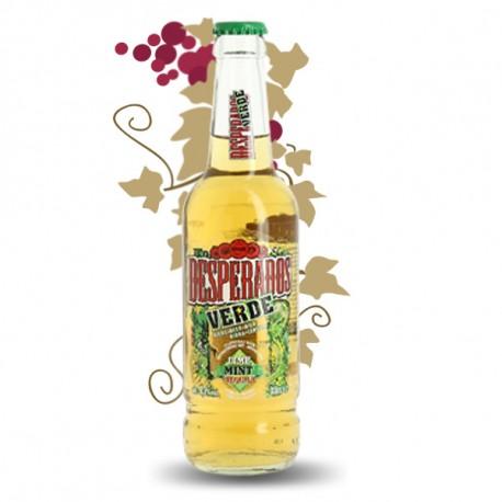 Desperados Verte Bière aromatisée Téquila, Menthe et Lime 33 cl
