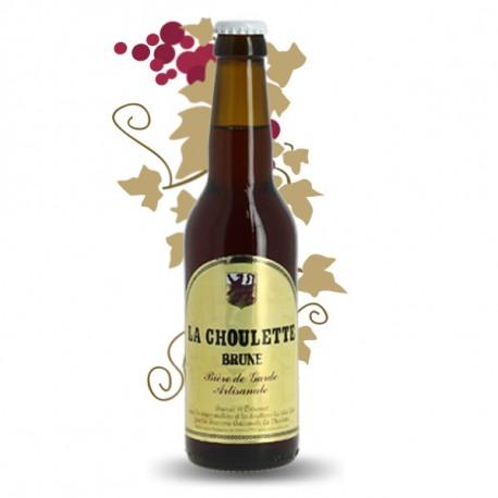 Bière CHOULETTE BRUNE 33 cl