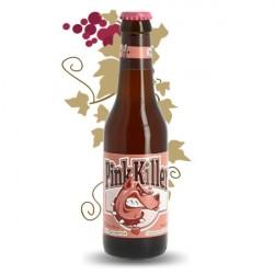 PINK KILLER Bière Blege Blanche Aromatisée Pamplemousse Rose 33CL