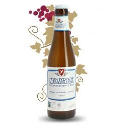 MONGOZO WHITE Bière Blanche BIO et Sans Gluten 33 cl