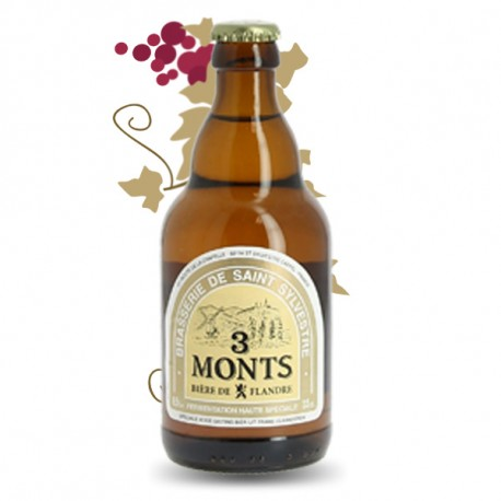 Trois Monts Bière Blonde des Flandres 33 cl