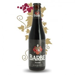 Bière belge noire Verhaeghe Barbe Noire 33 cl