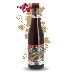 QUEUE DE CHARRUE ROUGE Bière Belge  Aromatisée Cerise 33 cl