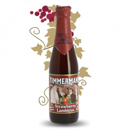 Timmermans STRAWBERRY LAMBICUS Bière Belge Fruitée 33 cl