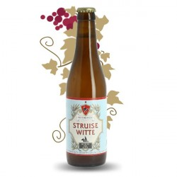 STRUISE Witte Bière Belge Blanche 33 cl