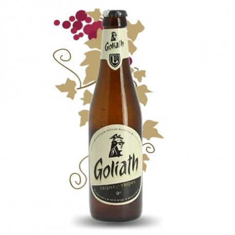 Bière Blonde Belge Goliath Triple 33 cl