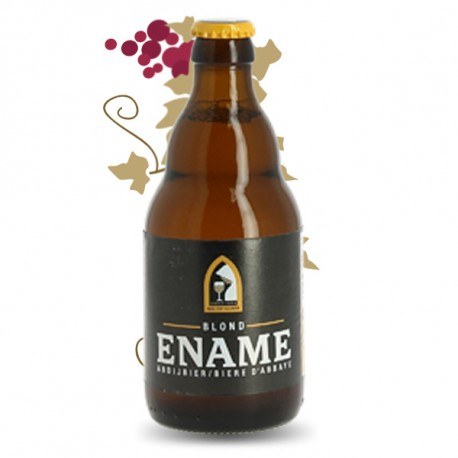ENAME Bière Belge BLONDE 33 cl