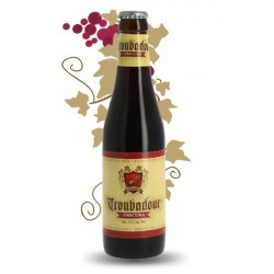 TROUBADOUR OBSCURA Bière Belge Brune Noire 33 cl