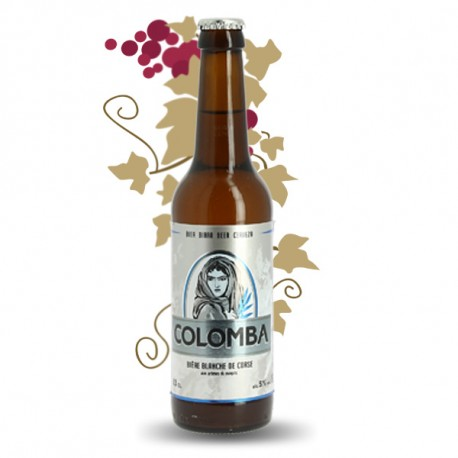 Bière blanche Corse Colomba 33 cl