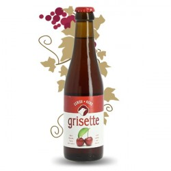 GRISETTE Bière Belge à la CERISE 25 cl