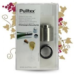 Bouchon PULLTEX Champagne à pression et stop goutte