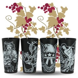 GOBELET PLASTIQUE Rhum SAILOR JERRY