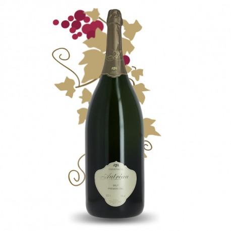 Champagne Brut AUTREAU Champagne 1er Cru MATHUSALEM 6 Litres